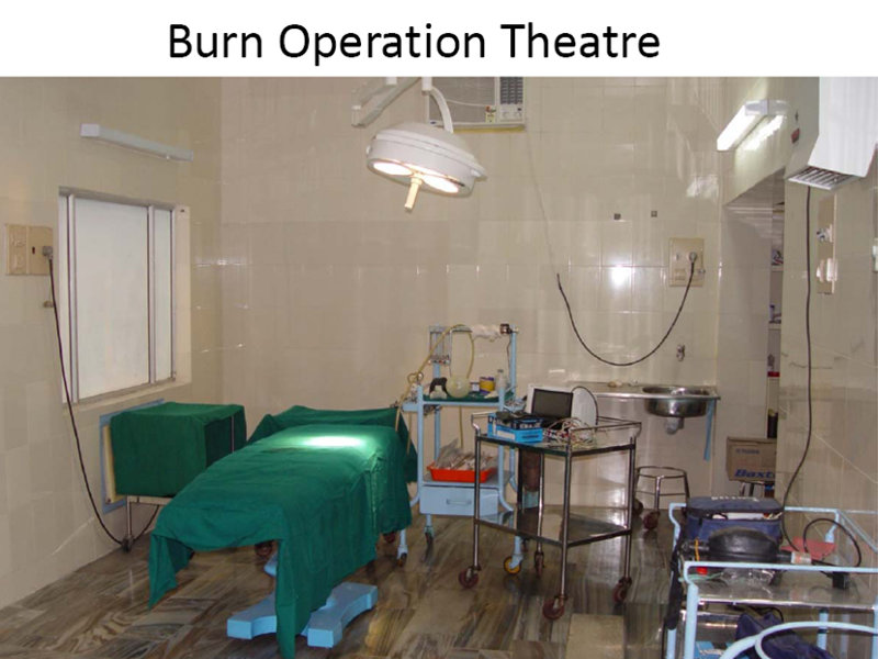 Burn Operation Theatre